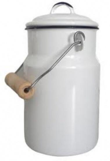 Konvička na mlieko 2L smaltovaná, bez dekorácie KNK-0223