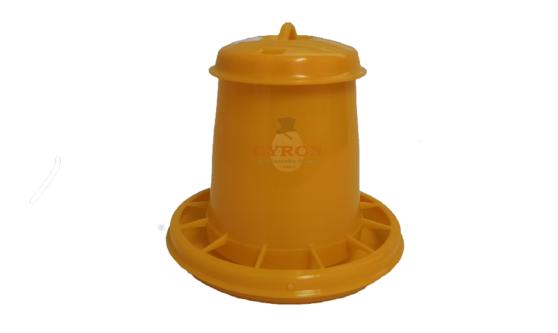 Krmítko 1,5kg žlté plastové 2070AF 10549