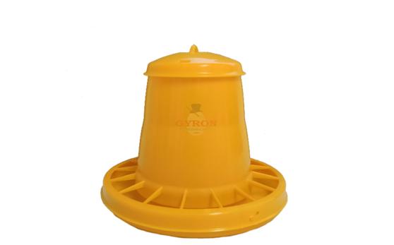 Krmítko 3,5kg žlté plastové 2071AF 11204