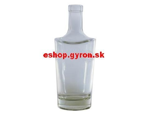 Fľaša 0,7L Baroko bezfarebná + uzáver 14711