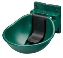Napájačka pre kone a dobytok, s plast.ventilom tmavozelená 3084
