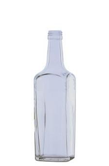 Fľaša Boston 0,5l bezfarebná + vrchnák 5179