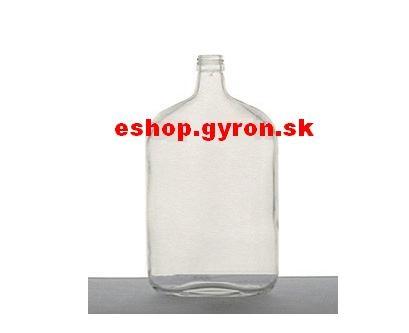 Fľaša 1L Taschen bezfarebná + uzáver 5282