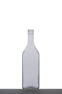 Fľaša 0,7l Havelka bezfarebná + uzáver 5307