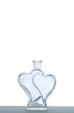 Fľaša Valentino - 0.50 L bezfarebná + uzáver 5351