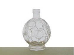 Fľaša Lopta - 0,50L bezfarebná + uzáver 5356