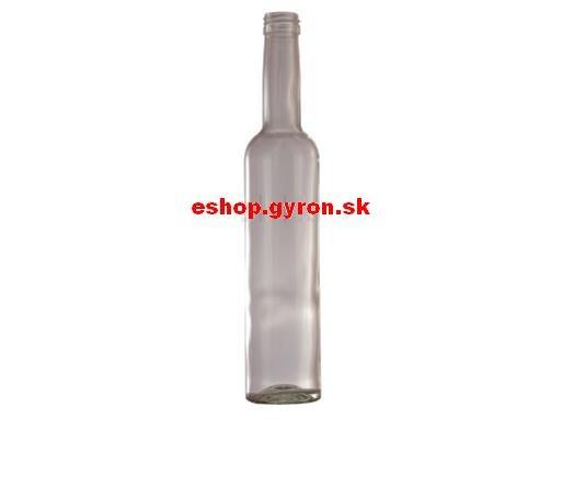 Fľaša 0,35l Ejliker Alko bezfarebná + uzáver 5383