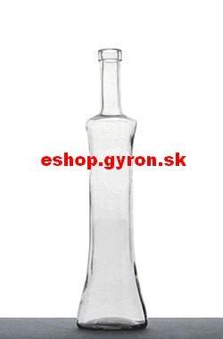 Fľaša 0,5l Dajana OBM bezfarebná + uzáver 5395