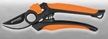 Nožnice záhradné 180mm, polkruh. 5583