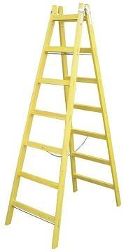 Rebrík drev.dvoj.5prieč.1,44m 6467