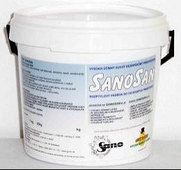 Sanosan na dezinfekciu odchovných priestorov 1kg 6555