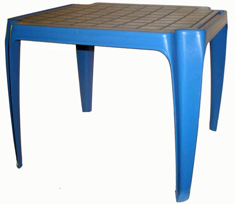 Detský stolík modrý 6598