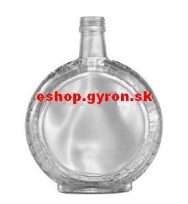 Fľaša 0,5l Slivovica Bricol bezfarebná + uzáver 6758