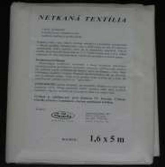 Netkaná textília biela 1,6x10m 7910