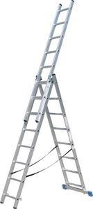 Rebrík AL 3x11 priečok Wersus 8975