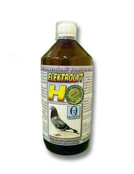 Elektrolyt H pre holuby 1000ml 9155
