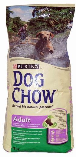 Purina DOG CHOW Adult jahňa+ryža 15kg 9485