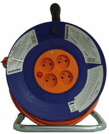 Káblový bubon 50m 4 zásuvky 230V DG-4ZR-F04/H05VV-F 3G 1,5mm2 9999