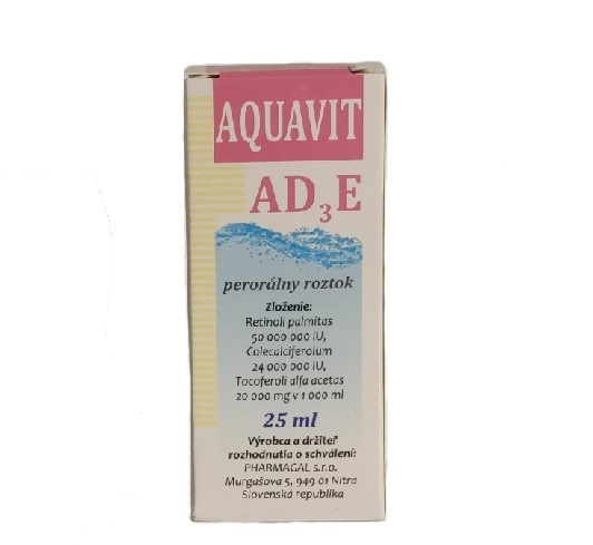 Výživový doplnok AD3 25ml Aquavit 0706