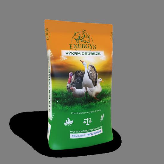 Kompletná kŕmna zmes pre kačice a husi od 3 týždňov VKCH2 25kg De Heus Energys-11595