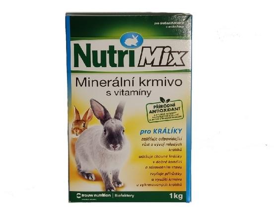 Nutrimix králiky 1kg 1616